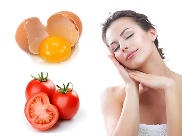 trị nám da bằng trứng gà cà chua