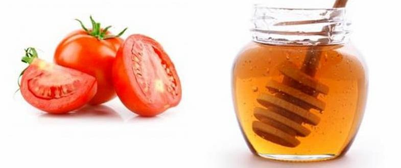 trị nám bằng mật ong và ca chua