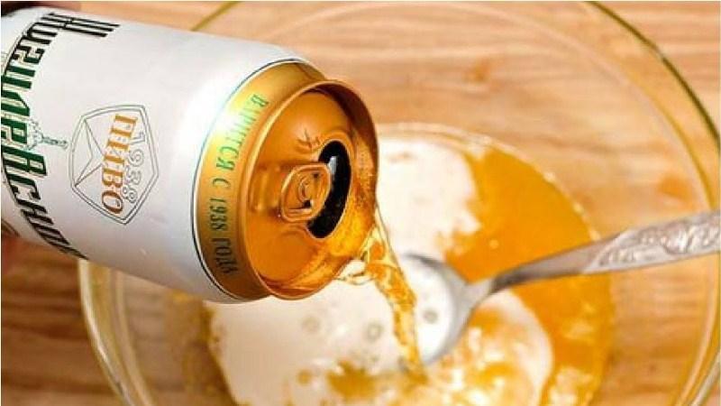Kết hợp bia và dầu gội để tóc nhanh dài