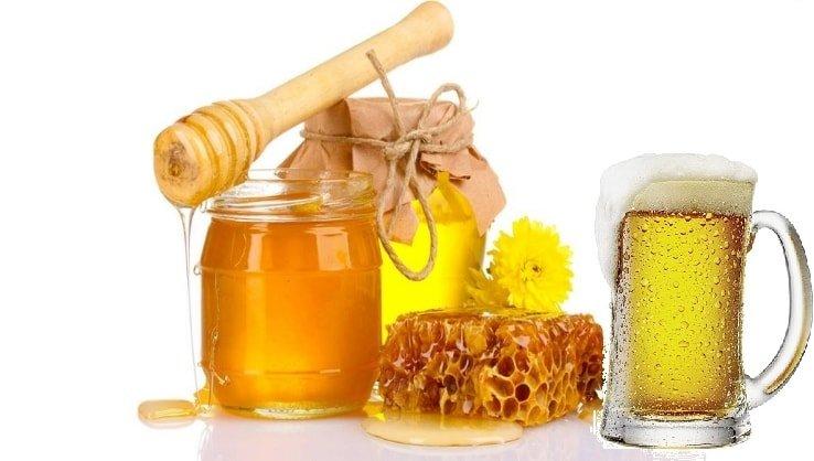 Cách làm dài tóc bằng bia với mật ong