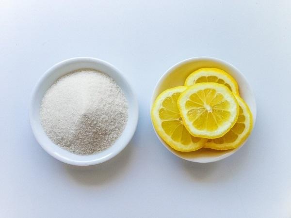 Tẩy tế bào chết body bằng đường và chanh