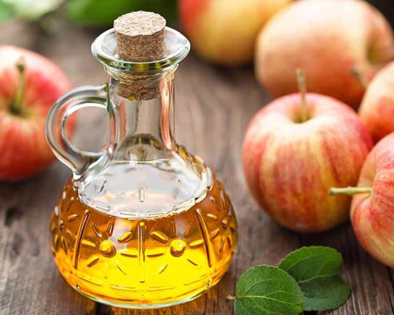 cách dùng giấm táo trị mụn