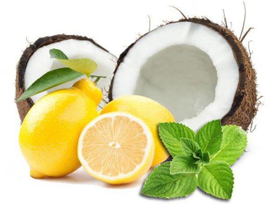 Cách trị nám da bằng dầu dừa và chanh