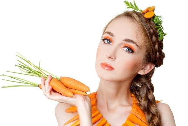 Cách trị thâm mắt bằng cà rốt