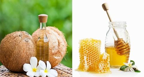 Chữa nám bằng mật ong kết hợp dầu dừa