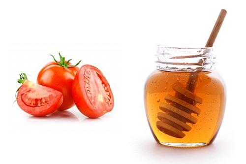 Tẩy trắng răng bằng cà chua kết hợp mật ong